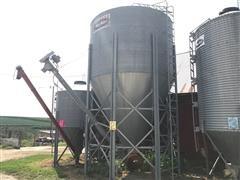 Moorman's 24 Ton Bulk Bin w/Auger & Motor
