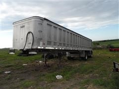 1997 Ravens Aluminum Frameless End Dump Trailer