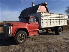 1979 Ford F-700 Grain Truck With Dump Box