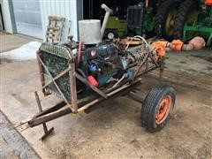 Ford 200 Power Unit With Pump On Cart