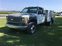 1992 Chevrolet 3500 Service/Utility Truck