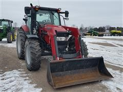 2010 Case IH Maxxum 110 MFWD Tractor W/ Loader