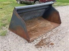 "Melroe 77"" Skid Steer Bucket"