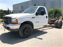 2000 Ford F450 Super Duty Cab & Chassis