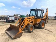 Case 580C 2WD Loader Backhoe