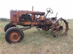 Allis Chalmers WC 2WD Tractor For Parts