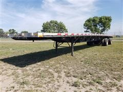 2005 Transcraft Eagle RS2 T/A Flatbed Trailer