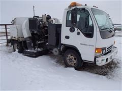 2003 Isuzu Npr Street Sweeper Truck