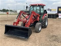 2017 Mahindra 25554CSIL Compact Utility Tractor W/Loader