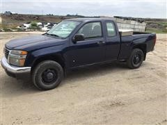 2008 GMC Canyon SL Extended Cab 4x4 Pickup