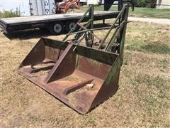 Gnuse 3 Pt Lifting Dump Bucket