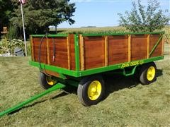 1955 John Deere Barge Wagon