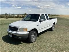 2001 Ford F150XLT 4X4 Extended Cab Pickup