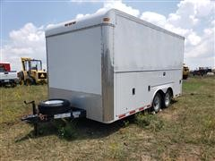 2006 Stahl T/A Enclosed Trailer