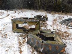 Agri Trac Pivot Tire Tracks