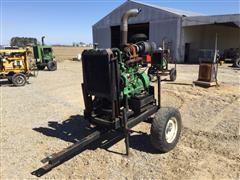 John Deere 4045T Power Unit W/Trailer