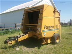 1997 Vermeer 605 Series K Large Round Baler