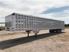 2017 Shop Built (Eby Conversion) T/A Ground Loading Livestock Trailer