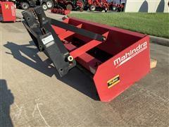 Mahindra 5' Box Scraper W/Quick Hitch