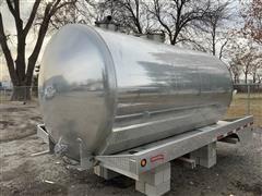 2010 Progress VA72 2500 Gallon Aluminum Vacuum Tank