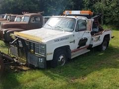 1983 Chevrolet K30 4X4 Dually Tow Truck