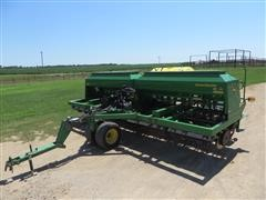 2009 John Deere 1590 No TIll Grain Drill W/Liquid Fertilizer