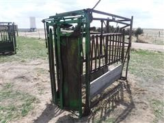 Livestock Manual Squeeze Chute