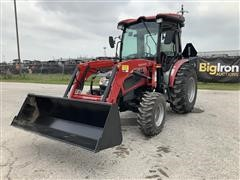 2015 Mahindra 3540 HST 4WD Compact Utility Tractor W/Loader