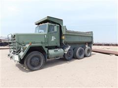 1979 A M General Military N 917 6x6 Tri/A Dump Truck