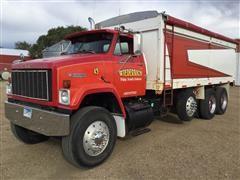 1985 GMC Brigadier Tri/A Grain Truck