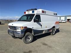 2000 Ford 2500 4x4 Ambulance Van Conversion