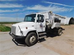 1994 Freightliner Roto-Mix FL70 Truck/490-14 S/A Feed Mixer Truck