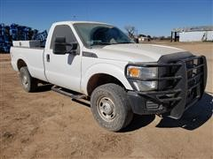 2011 Ford F250 4x4 Long Bed Pickup
