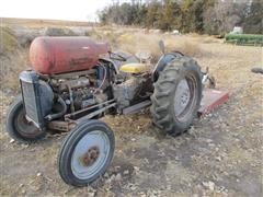 Ferguson 2WD Tractor W/Mower