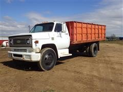 1974 Chevrolet C60 S/A Rear Dump Grain Truck
