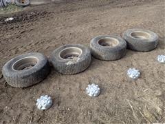 RAM 2500/3500 LT265/70R17 Tires, Rims & Caps