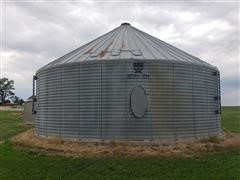 Behlen 15,000 Bushel Grain Bin W/Drying System