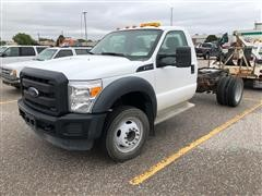 2013 Ford F450 Super Duty Cab And Chassis