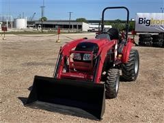 2017 Mahindra 15334FHIL Compact Utility Tractor W/Loader