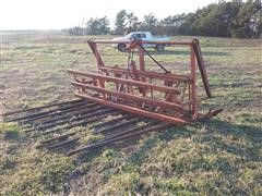 Farm Hand Push Off Stack Mover For Loader