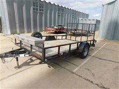 2010 Buck Dandy S/A Utility Trailer