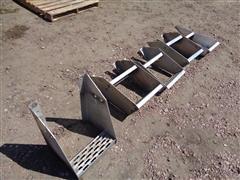 Frame Mount Aluminum Steps