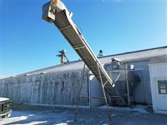 Kraus Stainless Steel Dry Fertilizer 8 Ton Blender W/Load Conveyor