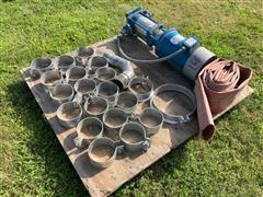 Grundfos 3 HP Pump/pipe Bands