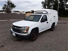 2005 Chevrolet Colorado Delivery Truck W/Reefer Bed