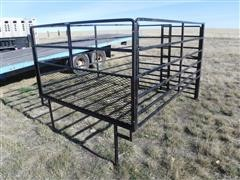 Custom Slide-In Pickup Livestock Rack