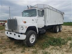 1984 Ford LT8000 T/A Silage Truck