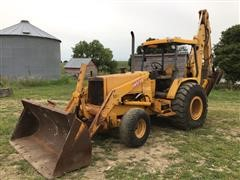 1991 John Deere 710C Loader Backhoe W/Extend-A-Hoe