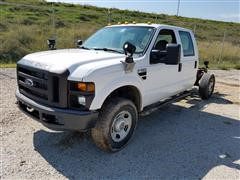2009 Ford F350 4x4 Crew Cab & Chassis