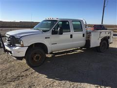 2003 Ford F550 Super Duty Crew Cab Service Truck